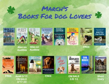 6 Authors Of Books For Dog Lovers March Promo REVISED 022718