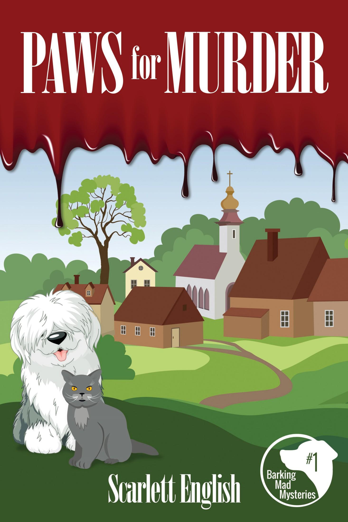 PawsForMurder - Scarlett English